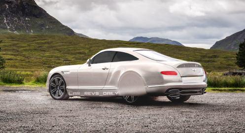 2017 Bentley Continental R-Type - Renderings 4