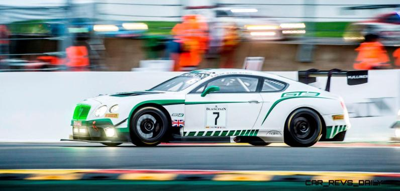 Bentley Continental GT3 - TOTAL 24 Hours of Spa 2015(2)