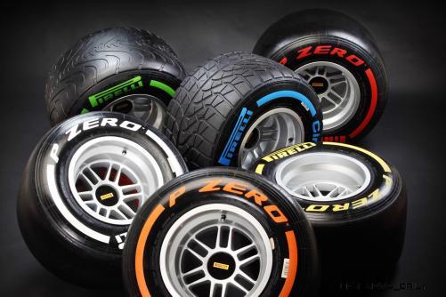 F1 Pirelli Tire Colors 3