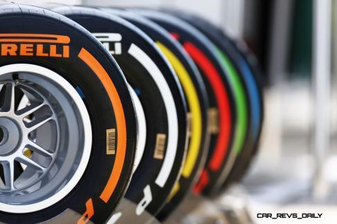 F1 Pirelli Tire Colors 5