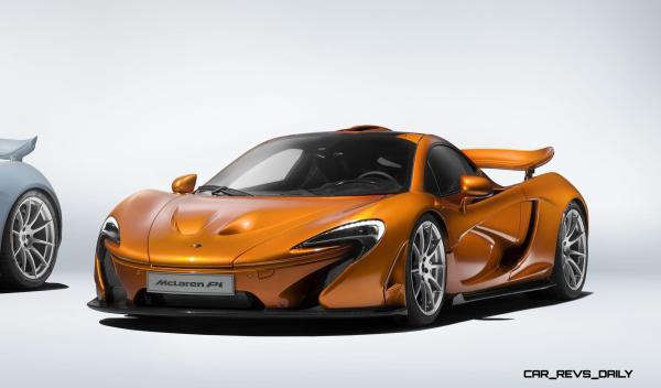 McLaren Wraps P1 Production 2