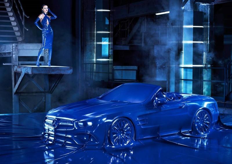 Mercedes Latex Fashion Shoot 13