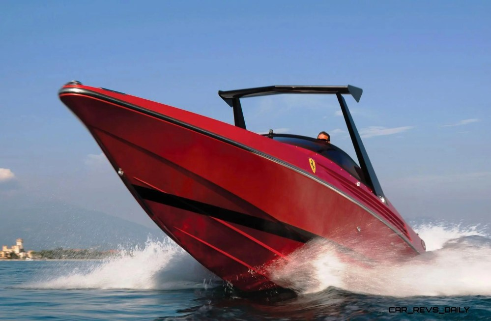 RM Sotheby's 1990 RIVA Ferrari 32 Speedboat 11