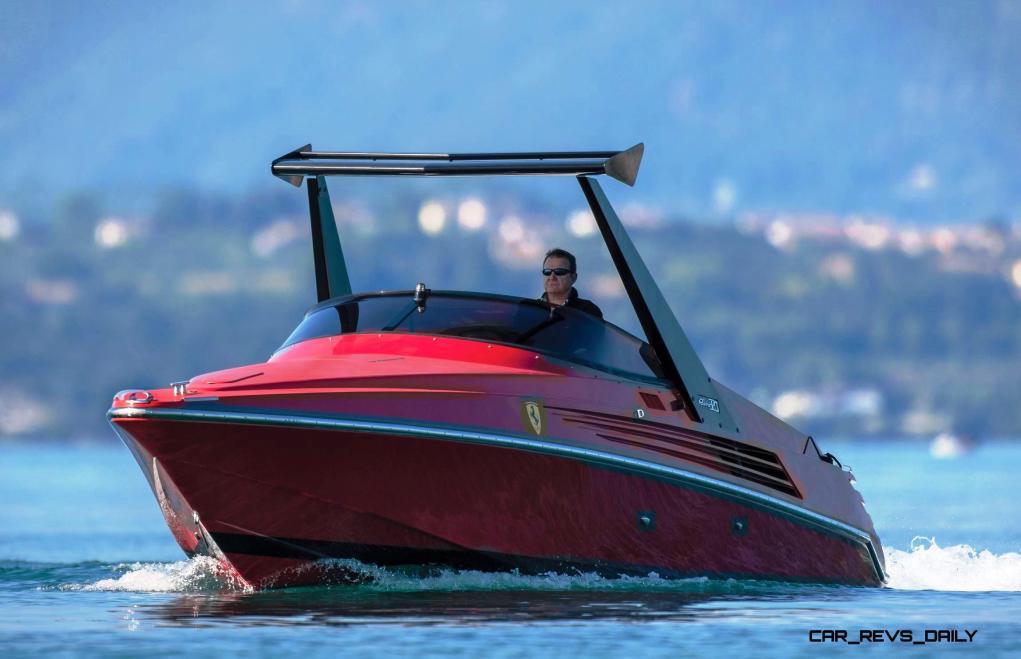 RM Sotheby's 1990 RIVA Ferrari 32 Speedboat 20