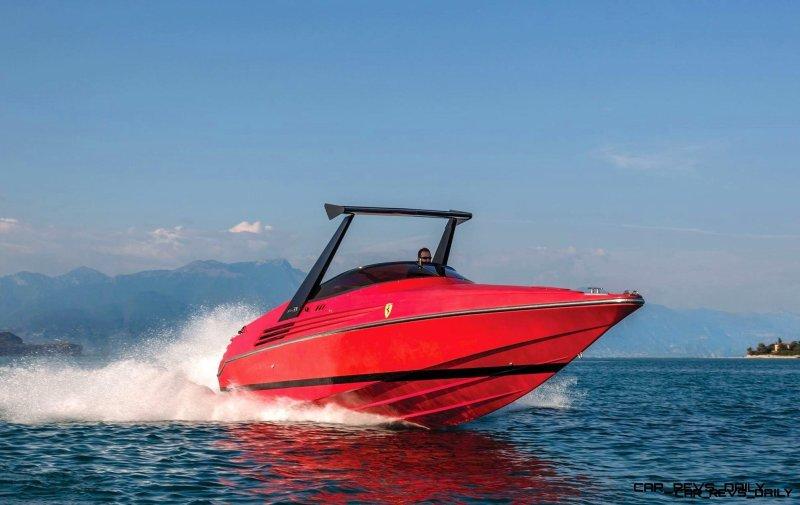 RM Sotheby's 1990 RIVA Ferrari 32 Speedboat 9