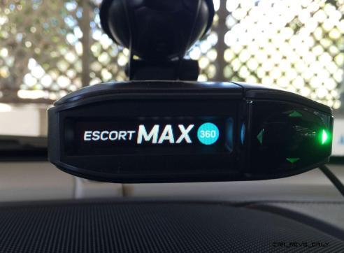 Review - ESCORT Max360 Radar Detector 14
