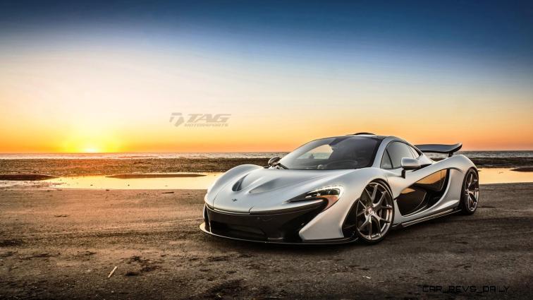 TAG Motorsports 2015 McLaren P1 HRE P101 Alloys 15