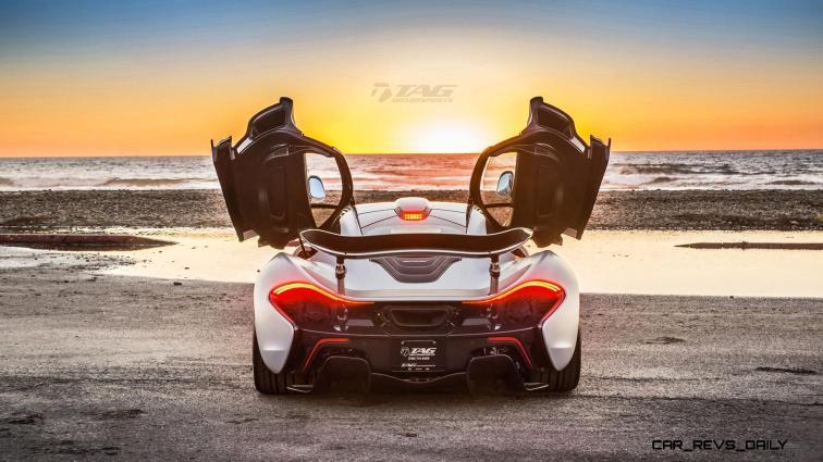 TAG Motorsports 2015 McLaren P1 HRE P101 Alloys 17