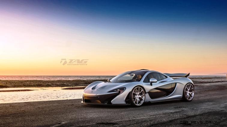 TAG Motorsports 2015 McLaren P1 HRE P101 Alloys 9