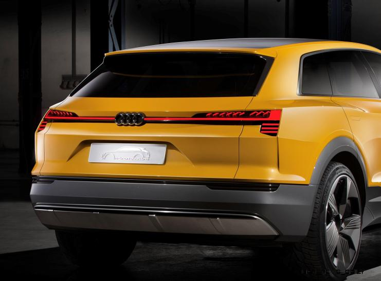 2016 Audi h-Tron Quattro Concept 1
