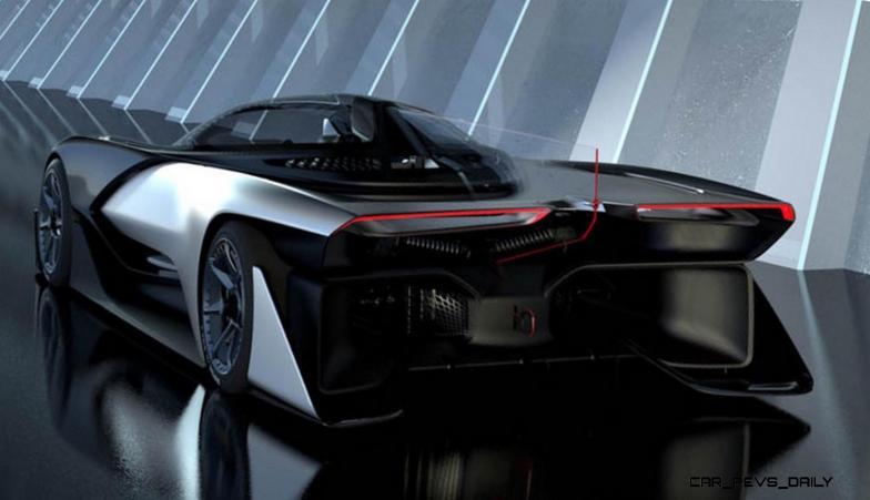 2016 Faraday Future FFZERO1 Concept 18