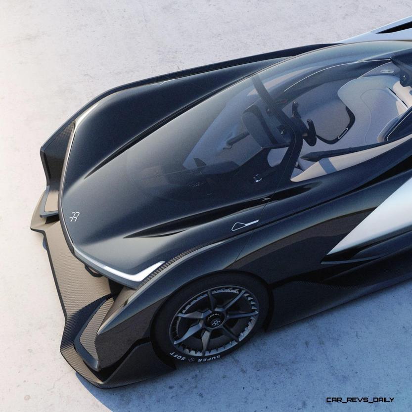2016 Faraday Future FFZERO1 Concept 40