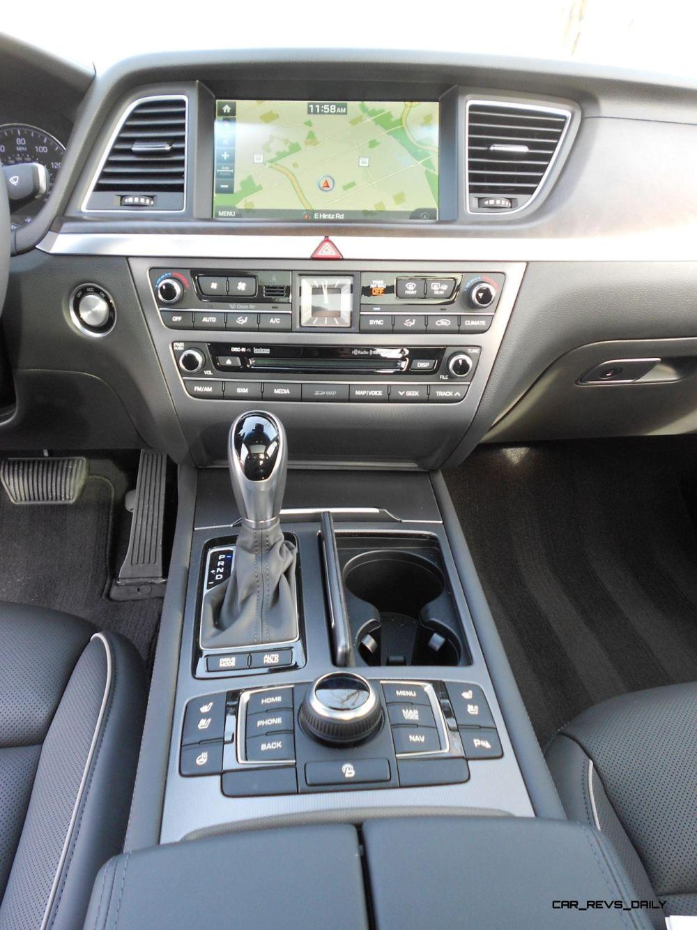 medium resolution of 2016 hyundai genesis awd 3 8 review interior 6