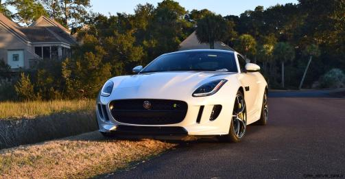2016 JAGUAR F-Type R AWD White with Black Pack 11
