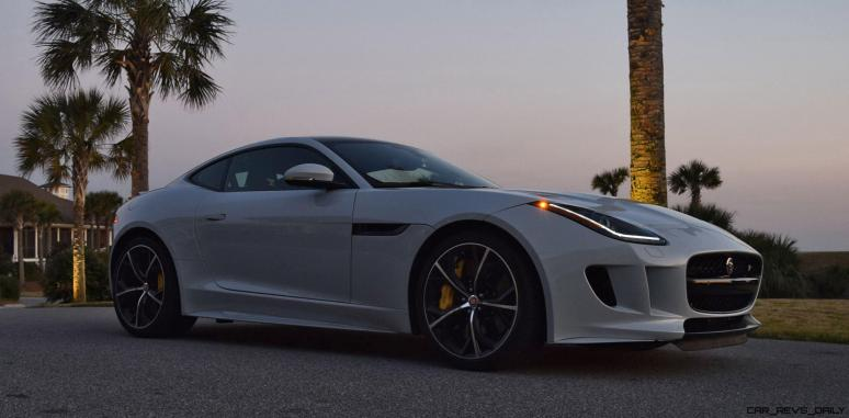 2016 JAGUAR F-Type R AWD White with Black Pack 23