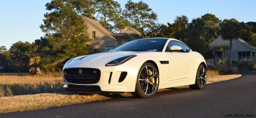 2016 JAGUAR F-Type R AWD White with Black Pack 3