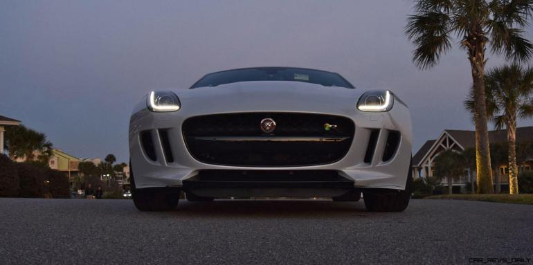2016 JAGUAR F-Type R AWD White with Black Pack 30