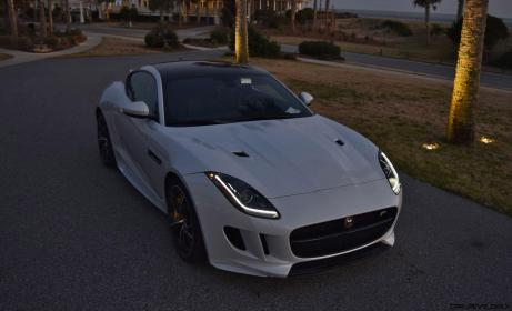 2016 JAGUAR F-Type R AWD White with Black Pack 35