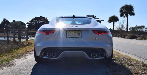 2016 JAGUAR F-Type R AWD White with Black Pack 47