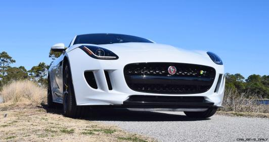 2016 JAGUAR F-Type R AWD White with Black Pack 60