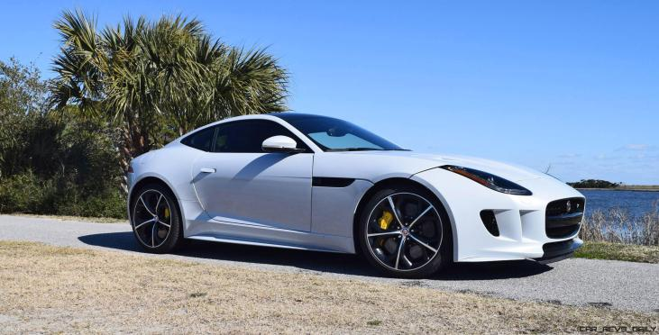 2016 JAGUAR F-Type R AWD White with Black Pack 72
