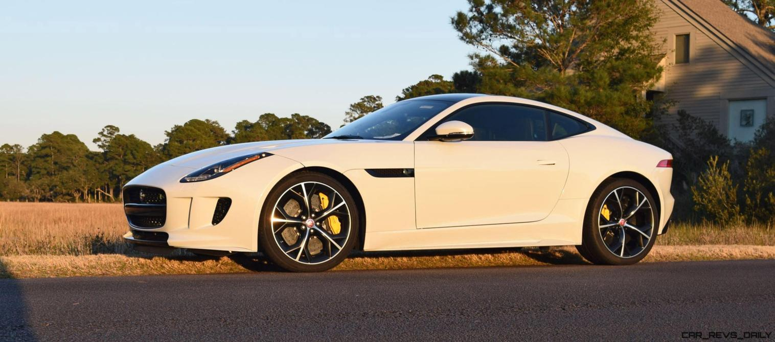 2016 JAGUAR F-Type R AWD White with Black Pack 8