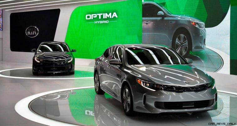 2016 KIA Optima Hybrid 2