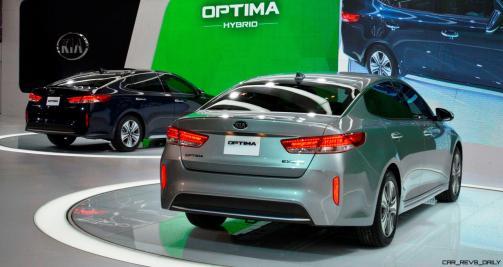 2016 KIA Optima Hybrid 9