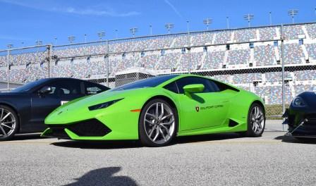 2016 Lamborghini HURACAN Verde Mantis 19