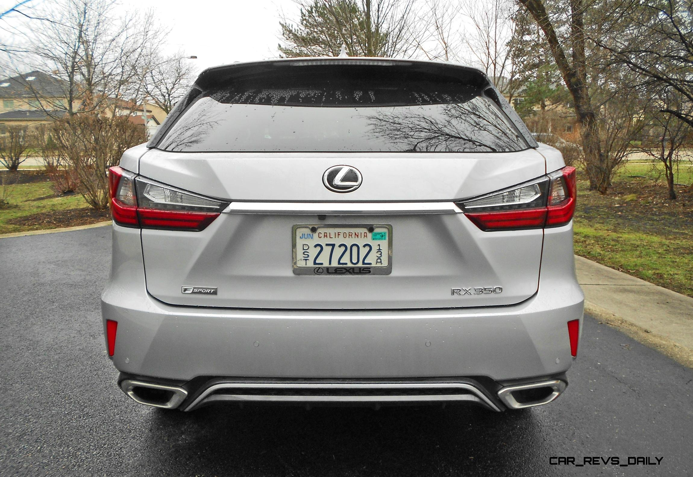Road Test Review 2016 Lexus RX350 F Sport AWD