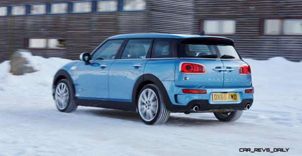 Colors Blue Mini Clubman Year Of Clean Water