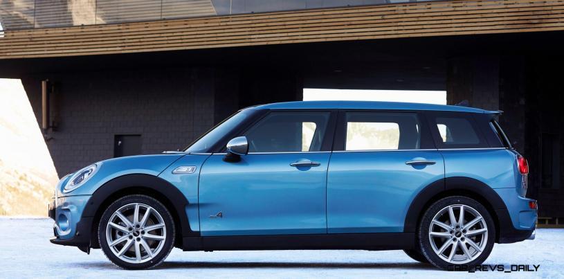 2016 MINI Clubman ALL4 Is New AWD, LWB Cooper S 70