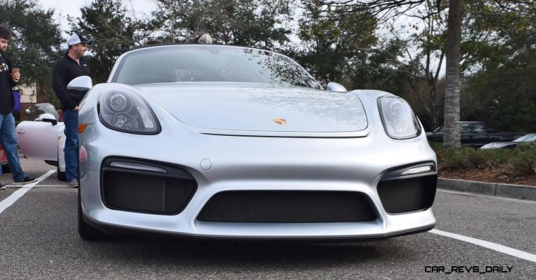 2016 Porsche Boxster SPYDER Silver 21