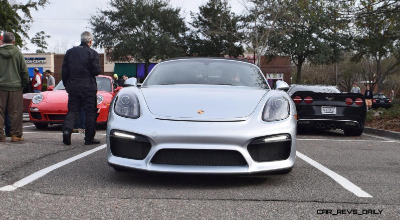 2016 Porsche Boxster SPYDER Silver 30