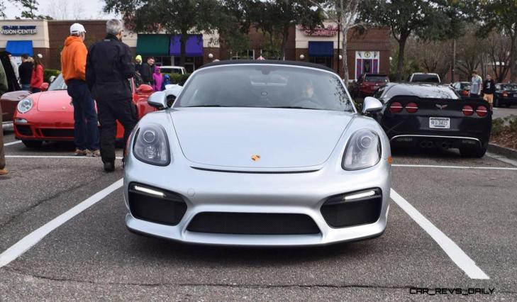 2016 Porsche Boxster SPYDER Silver 32