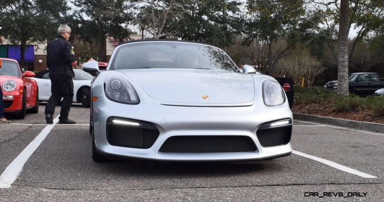 2016 Porsche Boxster SPYDER Silver 35