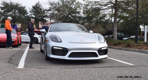 2016 Porsche Boxster SPYDER Silver 37