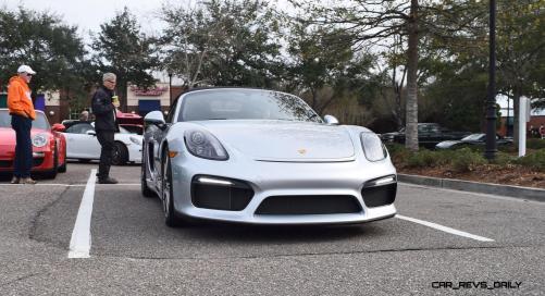 2016 Porsche Boxster SPYDER Silver 38