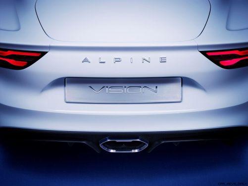 2016 Renault ALPINE Vision Concept 45