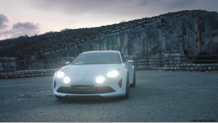 2016 Renault ALPINE Vision Concept - Video Stills 16