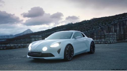 2016 Renault ALPINE Vision Concept - Video Stills 21