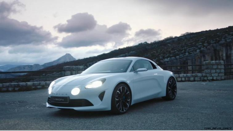 2016 Renault ALPINE Vision Concept - Video Stills 22