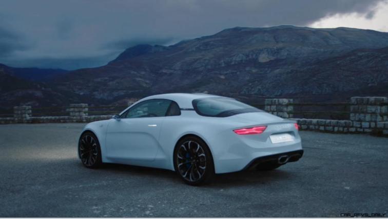 2016 Renault ALPINE Vision Concept - Video Stills 47