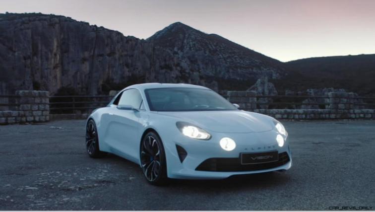 2016 Renault ALPINE Vision Concept - Video Stills 52