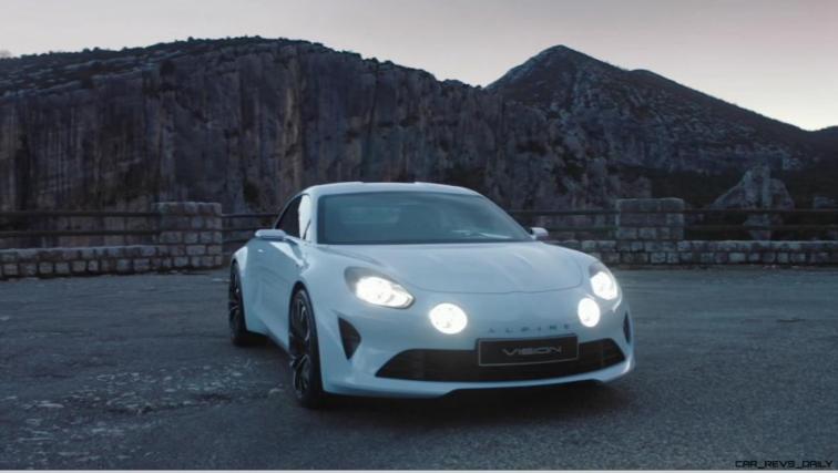 2016 Renault ALPINE Vision Concept - Video Stills 53
