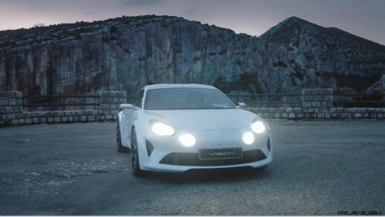 2016 Renault ALPINE Vision Concept - Video Stills 6