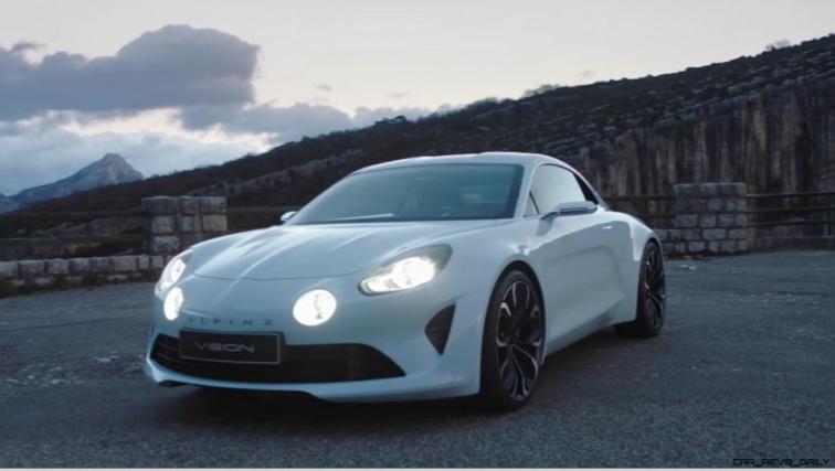2016 Renault ALPINE Vision Concept - Video Stills 62