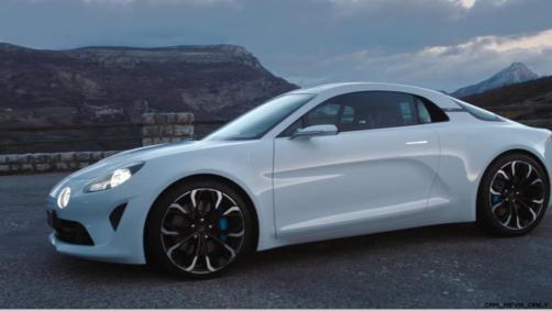 2016 Renault ALPINE Vision Concept - Video Stills 67