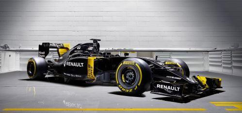 2016 Renault Sport Formula One Team 7