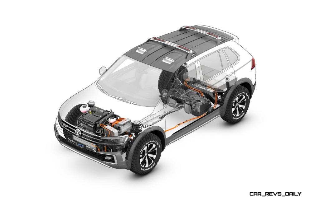 2016 Volkswagen Tiguan GTE Active Concept 1